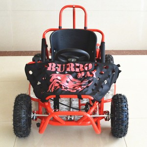 kids gasoline single seat engine go kart