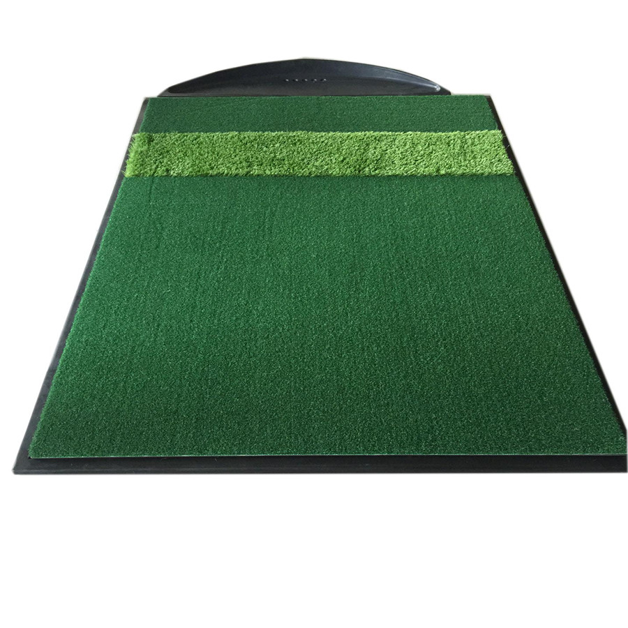 YGT-A185 golf mat for golf simulator with 20/30mm thick rubber base set
