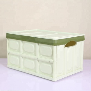 BJ MC Hot sale Hot selling plastic storage bins boxes for home storage or picnic car space saving