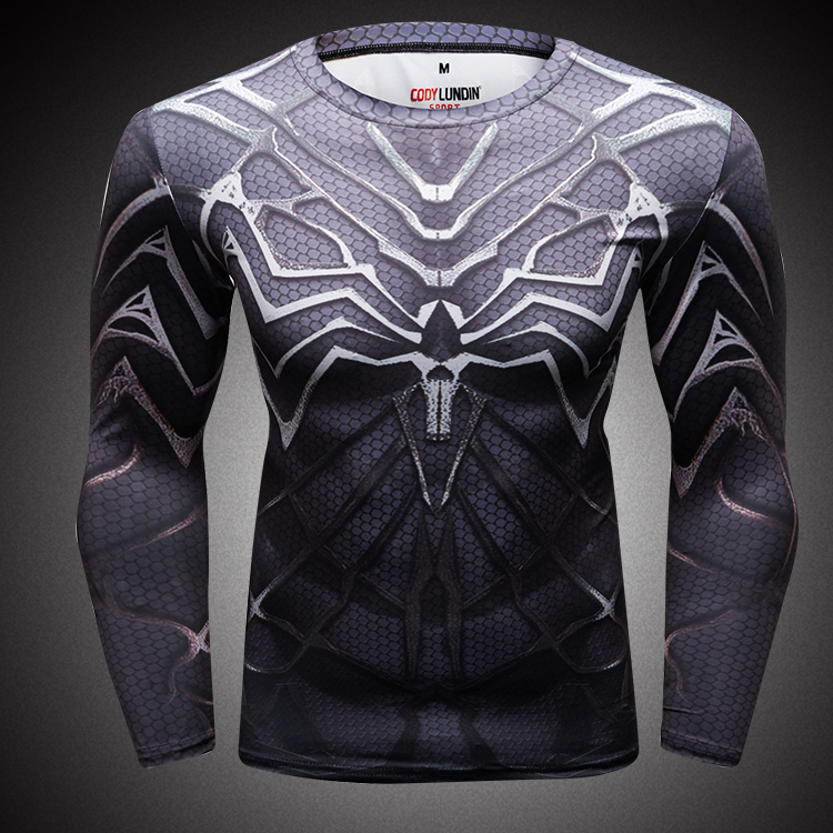 Cody Lundin super heroes camisa spiderman rash guard