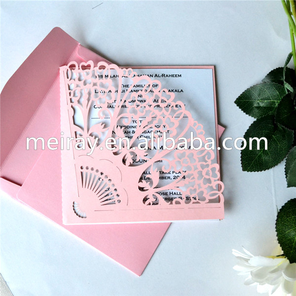Fan Style Wedding Invitations Suppliers And Manufacturers At Alibaba