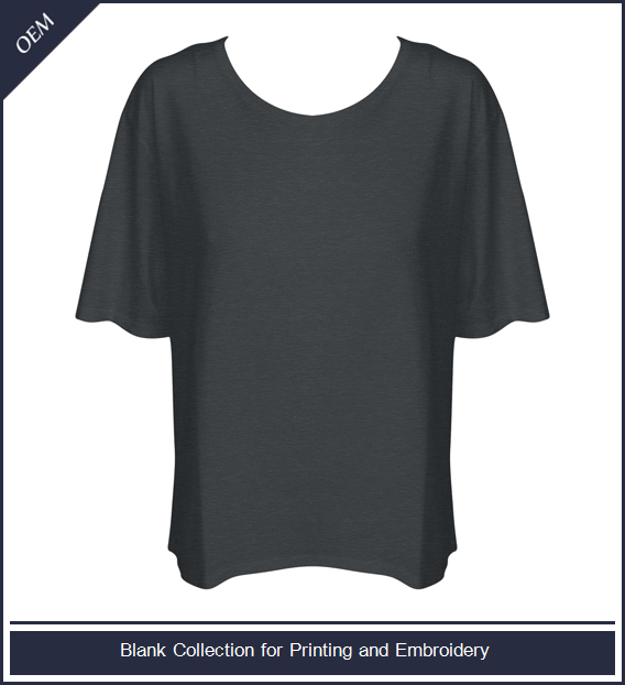 Women's fashion dolman sleeve top tee shirt