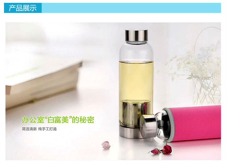 New design high temperature resist glass teapot with stainless steel infuser portable tea cup Travelling & New Design High Temperature Resist Glass Teapot With Stainless Steel ...