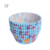 #37 Bakest Hawaiian style greaseproof paper cake cup with shrink film sleeve bag