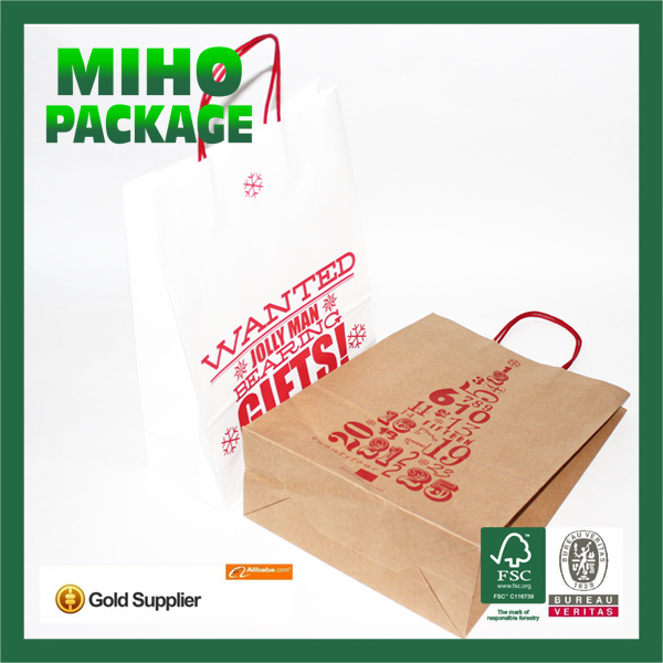 best seller factory bottom price a3 size paper shopping bag