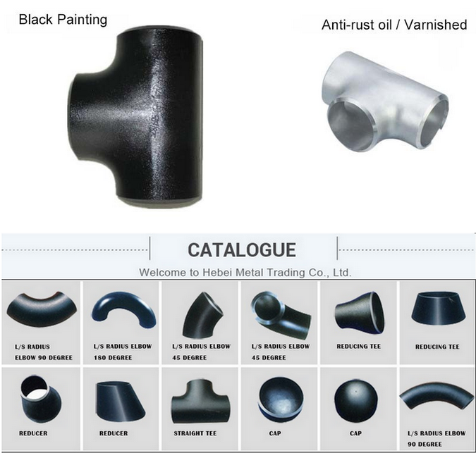 a106 8 inch carbon steel pipe fittings elbow