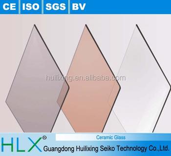 Hedendaags Hittebestendig Glas Voor Inductie Kookplaat Haard Maken In China XT-63