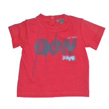 Baby summer 100% cotton plain red baby t shirts