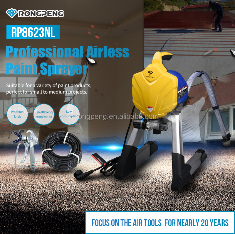 R8623NL RONGPENG Professional Airless Paint Sprayer
