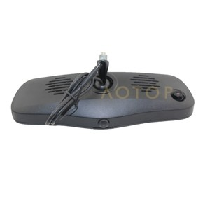 Car DVR in Rearview Mirror for lexus navigation with bluetooth