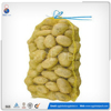 Alibaba China hot sale yellow knitted pe mesh vegetable bags