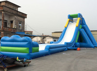 114.83*39.37*36.09ft Hot Sale Giant Inflatable Water Slide For Adult