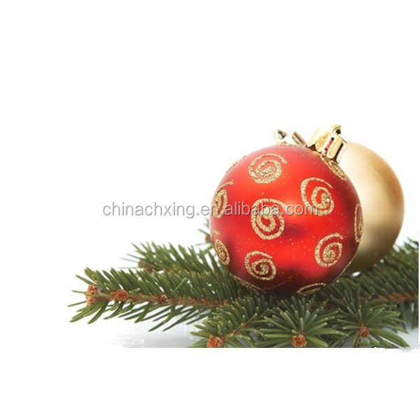 High quality party decoration 3cm plastic colorful hottest christmas ball in stock