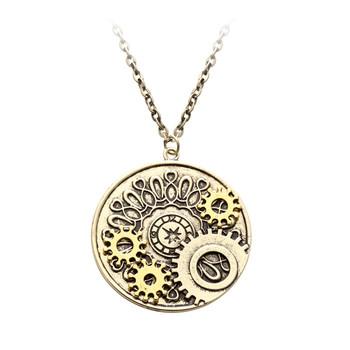 Made In China Antiken Gold Steampunk Stil Münze Form Getriebe