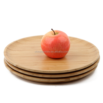 round bamboo wood charger plate bamboo food serving dinner plate  bamboo plate  sc 1 st  Alibaba & Round Bamboo Wood Charger PlateBamboo Food Serving Dinner Plate ...