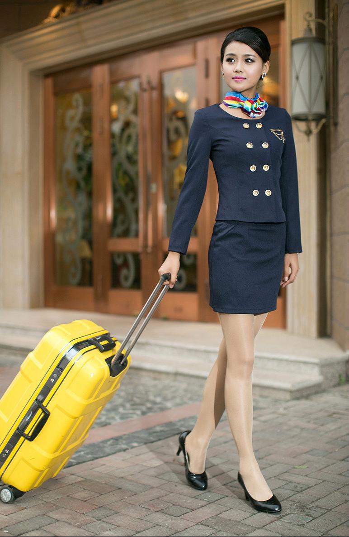 Air Hostess Uniform 92