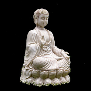 White stone marble buddha statue for sale