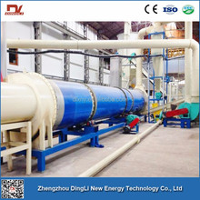 CE High Quality Hot Air Flow Wood Shaving Rotary Dryer For Sale