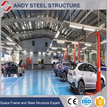 Steel Structure Auto Service Workshop Layout Design Buy