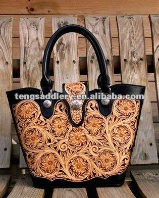 Hand Tooled Sheridan Style Leather Handbags Genuine Handbag Western Sched Product On Alibaba