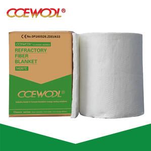 CCEWOOL 1260 refractory kiln insulation 6mm ultra-thin ceramic fiber blanket factory