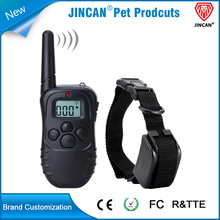 Anti barking remote dog training collar