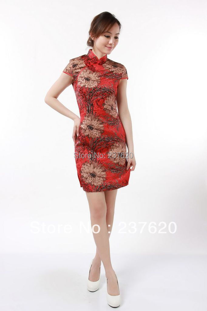 f440203a20f5 Get Quotations · Free shipping chinese traditional dress cotton Linen cheongsam  qipao cheongsam dress vintage design short tang suit