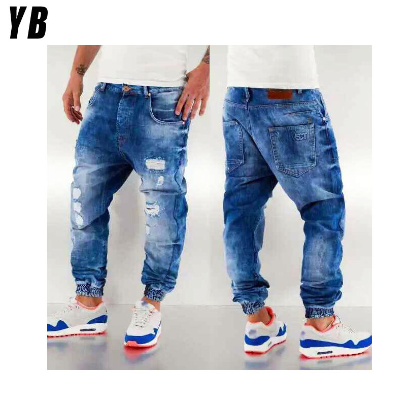 Jeans Manufacture Washed Men Fashion Urban Style Men Jean - Buy