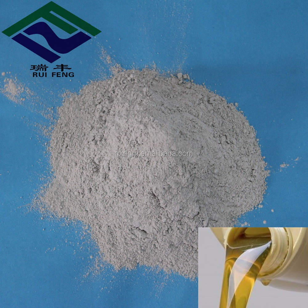 waste diesel and lubricating oil recycling additives activated bleaching earth