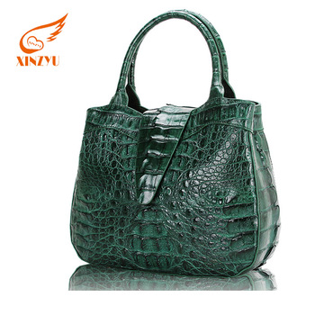 ef9e9dd70d OEM Handbag Crocodile Authentic Designer Handbag Wholesale Italian Leather  Handbag