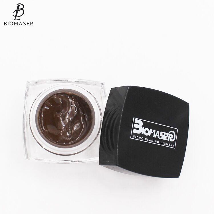 Горячая продажа биомайзер микроблейдинг пигмент Темно-пепельный коричневый бровей татуировки чернила