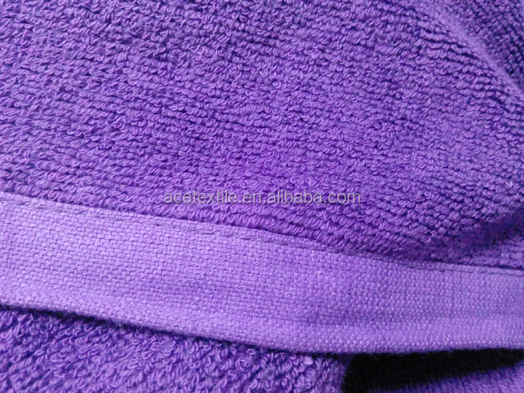 2a8472a3da0 Cotton Terry purple color Surf Changing Hooded Adult Towel poncho on beach