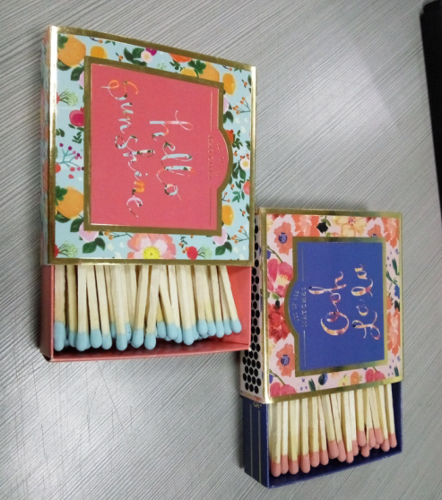High Quality custom /cartoon paper safety match for Sales promotion