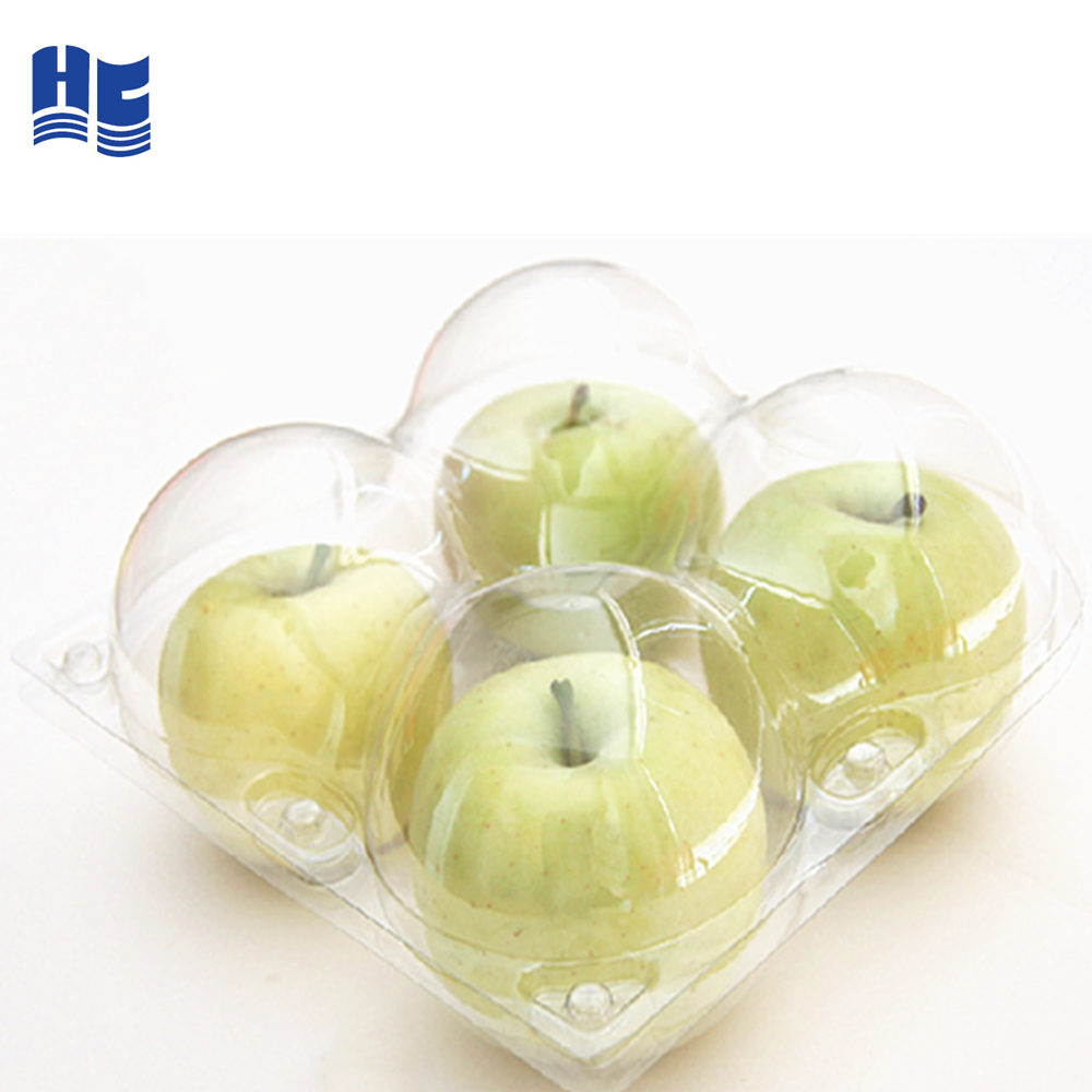 Clear apple plastic verpakking, Clear Blister apple Clamshell Verpakking
