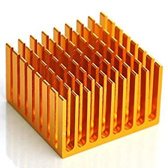 """Electronics-Salon 10PCS Aluminum Heatsink, 1.48"""" x 1.44"""" x 0.93"""", Heat-Sink."""