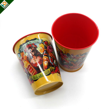 christmas beverage metal bucket small popcorn tin buckets