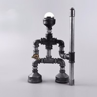 6.25-1 Cheap discount promotions Pipes fixtures new robot design lamp