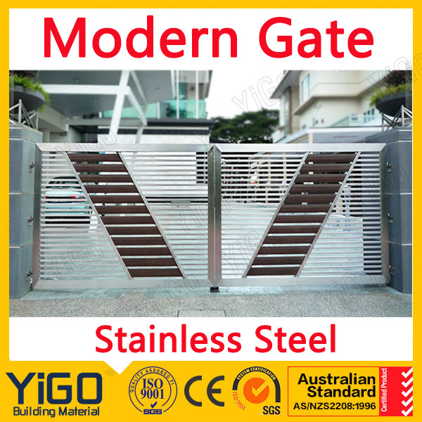 Customized Iron-pipe-gate-design With High Quality