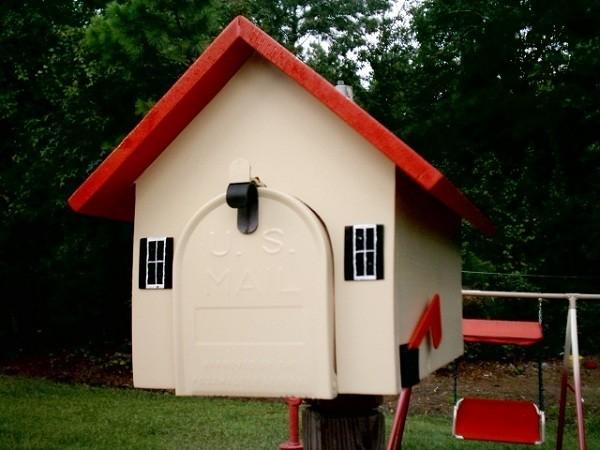 r sidentiel livraison debout contemporain corten mat riel maison en forme usa bo te aux lettres. Black Bedroom Furniture Sets. Home Design Ideas