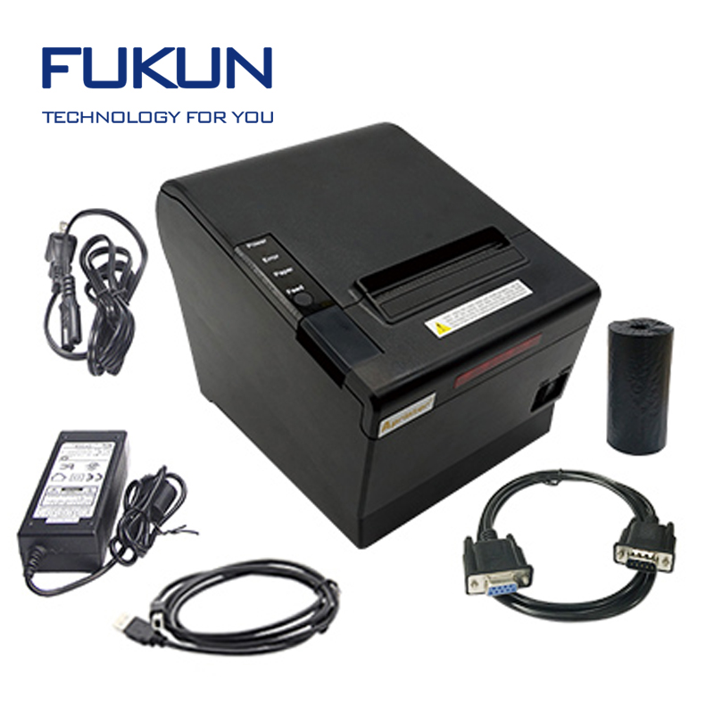 The Newly Developed Set Up Wireless Printer With 8mb Buffer And Wifi Chip FUKUN-POS80BF