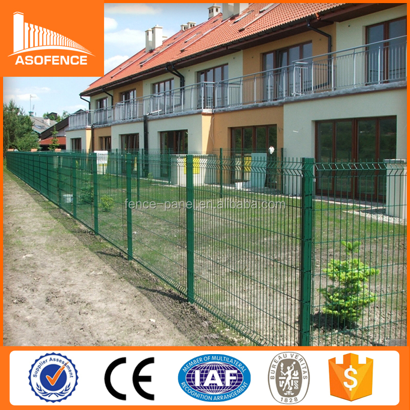 High Quality Anping Lowes Welded Pvc Coated 3d Garden Wire Fencing ...