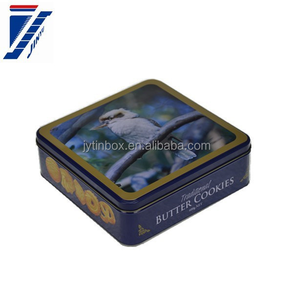 hot-sale mints/candy tin box tin box for food square tinplate tin box