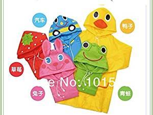 Maxry(TM)2016 New hot!Animal-shaped kids Raincoat Children's Raincoat Kids Rain Coat Children's waterproof animal rainwear