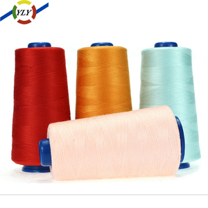 50/2 402 tex27 tex29 Colours Roll spun polyester Coats sewing Threads Price in china