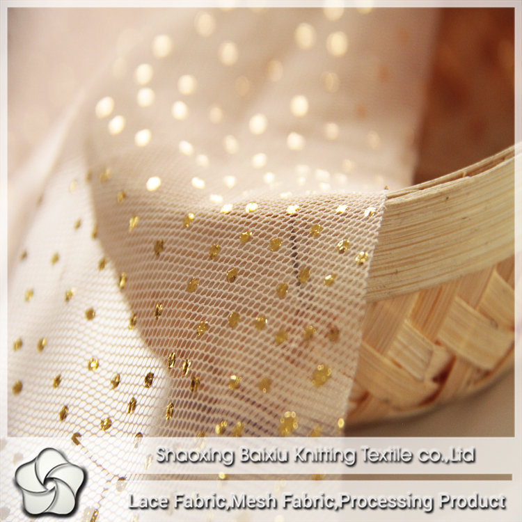 beautiful glitter <strong>poly</strong> mesh for flower wrapping home decoration