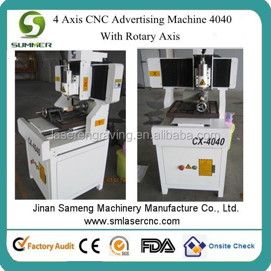 CX4040 cnc 3d mini 4040 router/mini cnc 4axis router