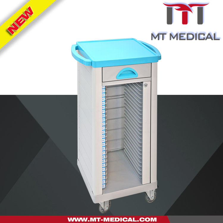 Medical Files casebook Cart Patient Records cart stainless steel medical cart