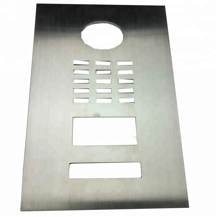 stainless steel flat <strong>metal</strong> stamping for door keyboard