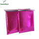 Copper Metallic Corrugated Book Holographic Decorative Poly Rose Gold Bubble Mailer