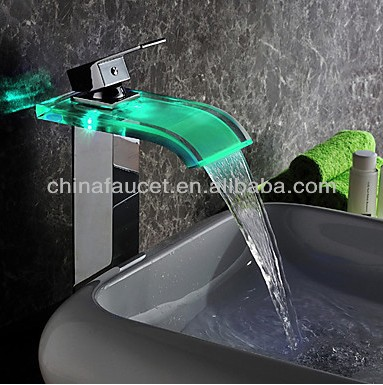 Color Automatic Change Faucet Led Light Faucet 360 Degree Rotation Bathroom Kitchen Hydroelectric Temperature Sensor Water Tap Quality And Quantity Assured Home Improvement Bathroom Sinks,faucets & Accessories